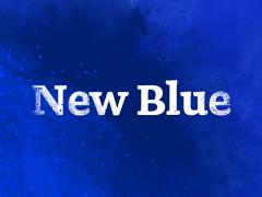 YInMn blauw: New Blue