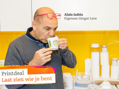 "Alain Indria van Ginger Love: ""Ga er keihard voor. There is no way back!"""